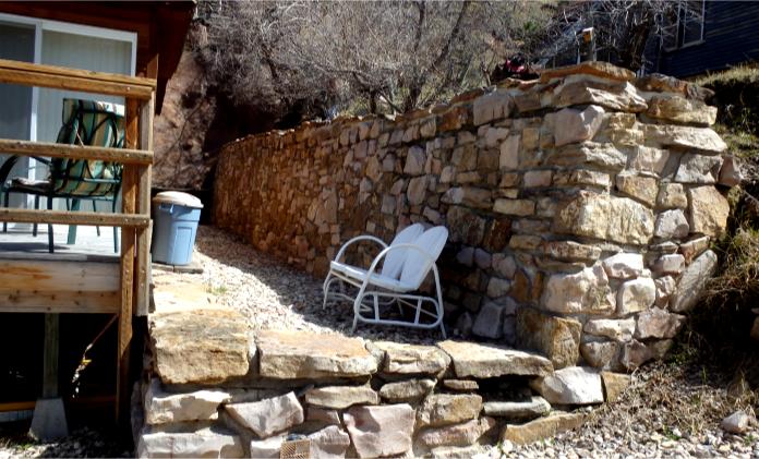 Deadwood Retaining Walls