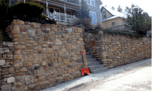 Deadwood Retaining Walls
